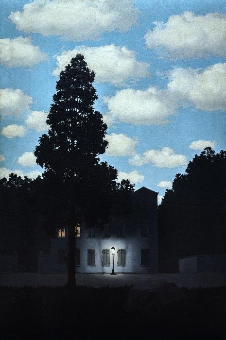 René Magritte - L'impero delle luci (1953-1954)