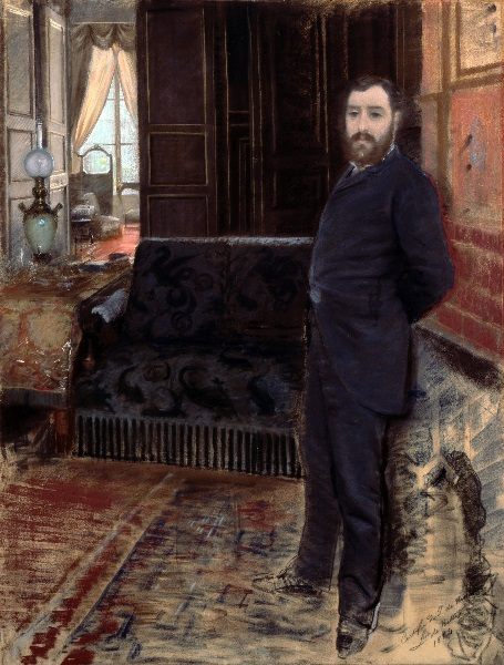 Giuseppe De Nittis - Autoritratto (1883)