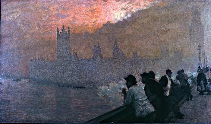 Giuseppe De Nittis - Westminster (1878)
