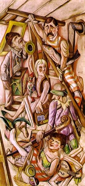 Max Beckmann - Il sogno (1921)