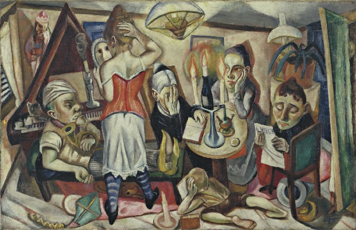 Max Beckmann - Immagine di famiglia (1920)