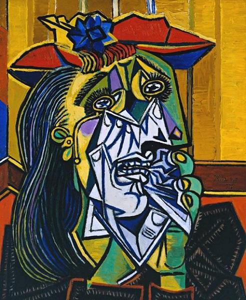Pablo Picasso - Donna che piange (1937)