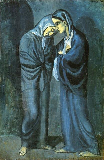 Pablo Picasso - Le due sorelle (1902)
