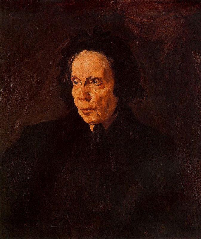 Pablo Picasso - Ritratto della zia Pepa (1896)