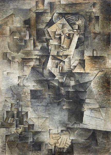 Pablo Picasso - Ritratto di Daniel-Henry Kahnweiler (1910)