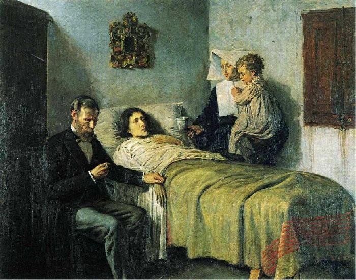 Pablo Picasso - Scienza e carità (1897)