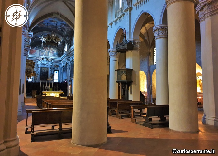 Piacenza - Basilica di Sant'Antonino - interno