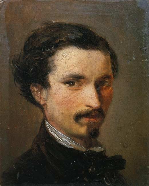 Silvestro Lega - Autoritratto (1861)