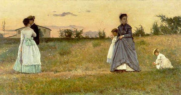 Silvestro Lega - I fidanzati (1869)