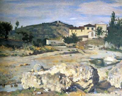 Silvestro Lega - Pian del Mugnone (1873-1875)