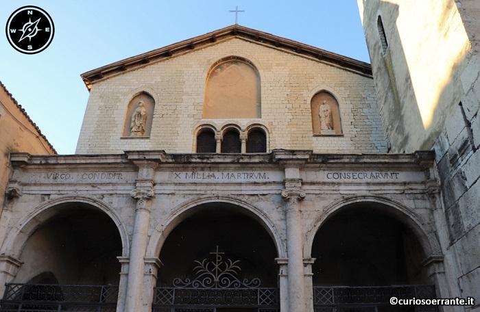 Spoleto - Basilica di San Gregorio Maggiore - facciata