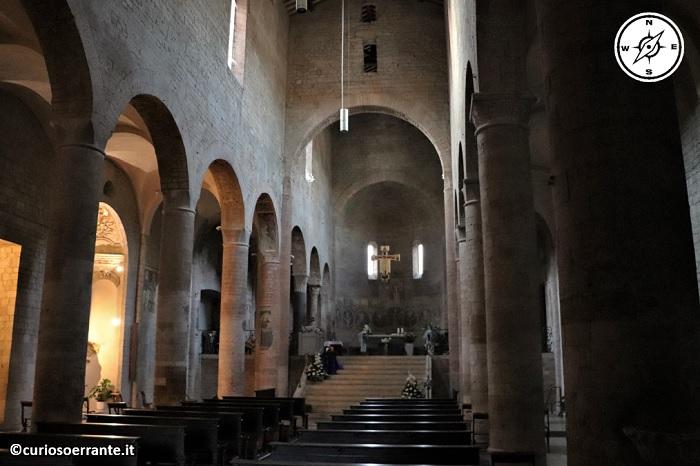 Spoleto - Basilica di San Gregorio Maggiore - interno
