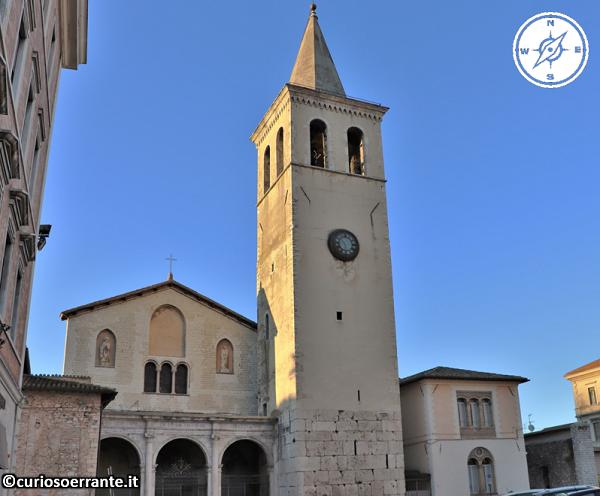 Spoleto - Basilica di San Gregorio Maggiore