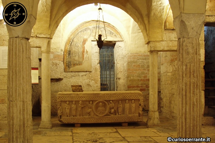 Spoleto - Cripta della Chiesa di Sant'Ansano