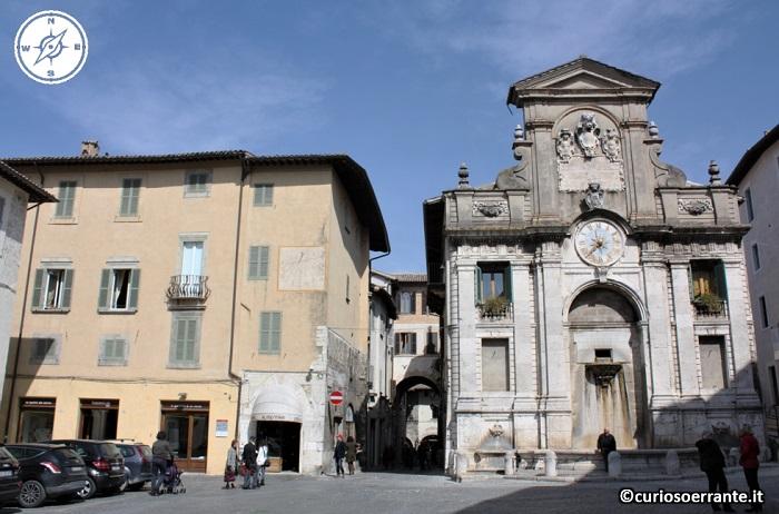 Spoleto - Piazza del Mercato