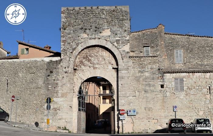 Spoleto - Porta di Monterone
