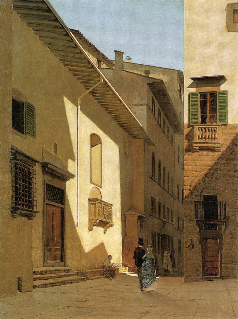 Telemaco Signorini - Santa Maria de' Bardi (1870)