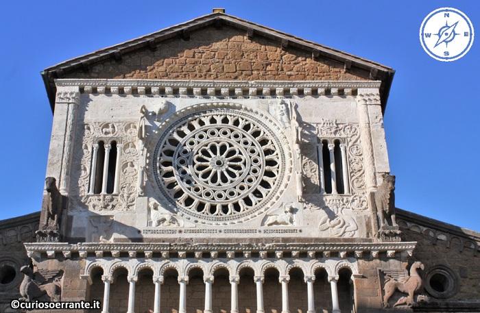 Tuscania - Chiesa di San Pietro - Facciata