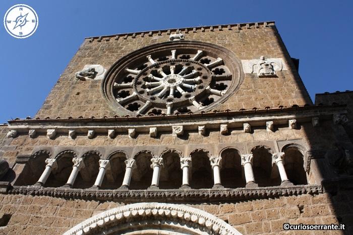 Tuscania - Chiesa di Santa Maria Maggiore - facciata