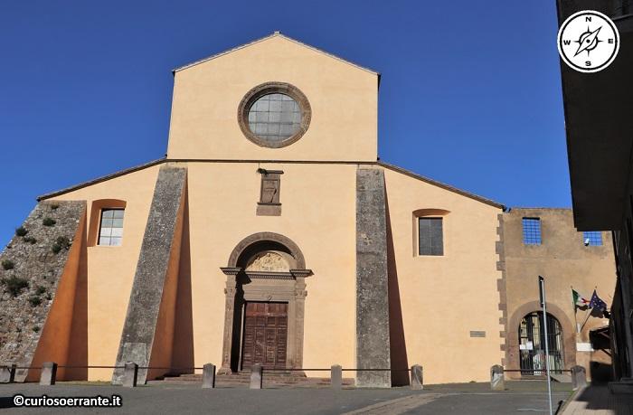 Tuscania - Chiesa di Santa Maria del Riposo