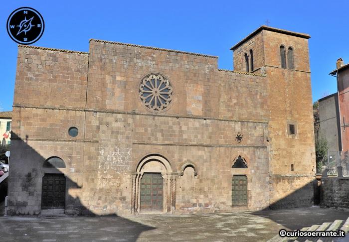 Tuscania - Chiesa di Santa Maria della Rosa