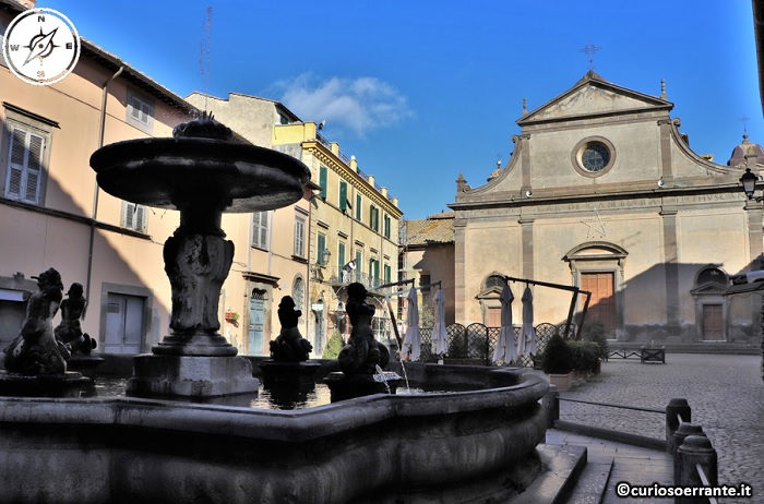 Tuscania - Piazza del Duomo