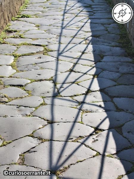Tuscania - Tratto di strada romana