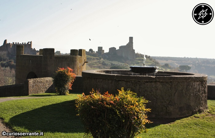 Tuscania - Vista dalle mura medievali
