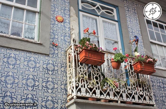 Aveiro - casa con azulejos