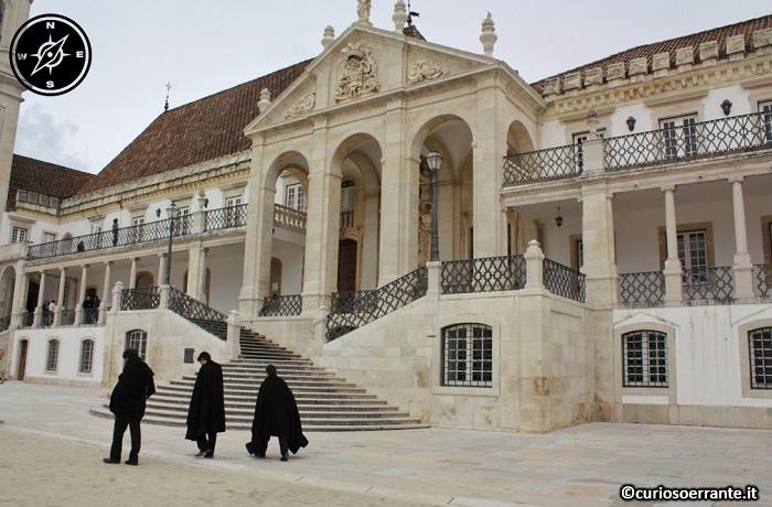 Coimbra - Paço das Escolas - La via latina