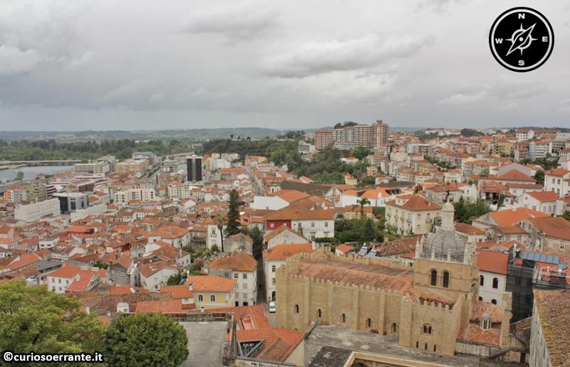 Coimbra - veduta della città, antica capitale del Portogallo
