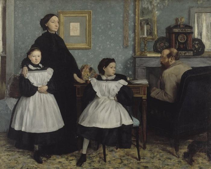 Edgar Degas - La famiglia Belelli (1858–1867)
