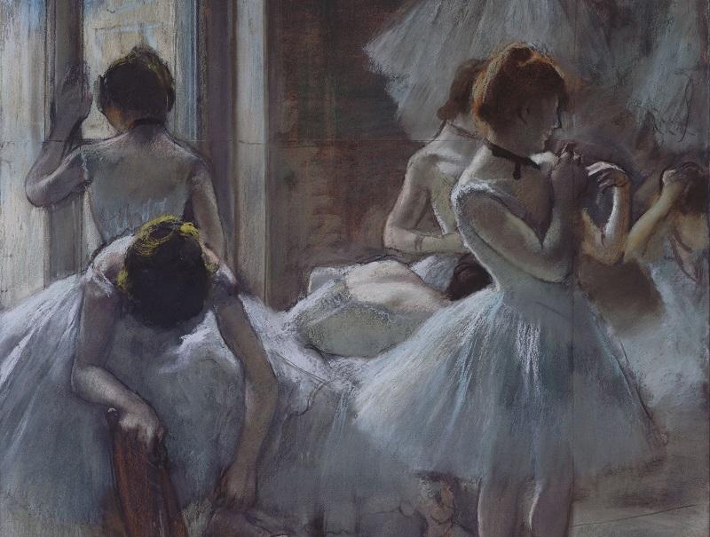 Edgar Degas - Le ballerine