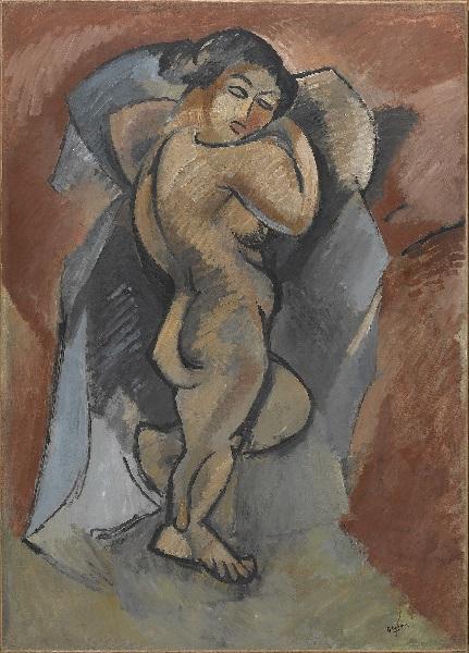 Georges Braque - Grand Nu (1908)
