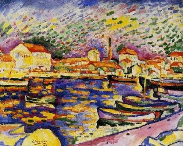 Georges Braque - Paysage à l'Estaque (1906)