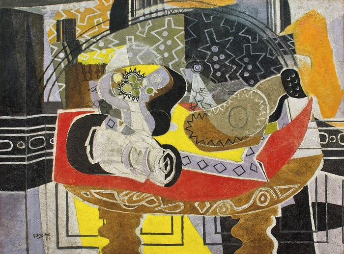 Georges Braque - Still life with Guitar II (1936)