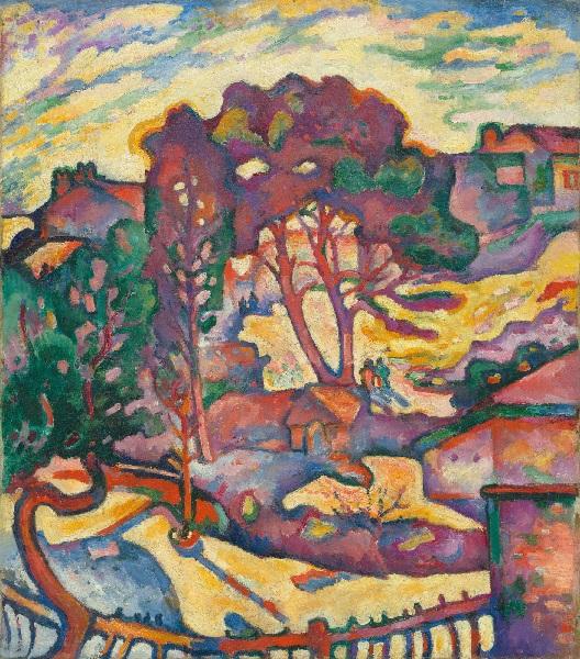 Georges Braque - The Large Trees. L'Estaque (1906-07)