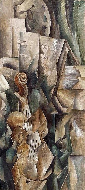Georges Braque - Violon et Palette (1909)