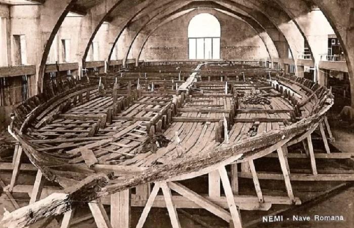 Nemi - Antiche navi romane