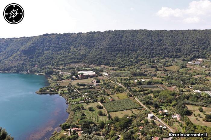 Nemi - Lago di Nemi sponde