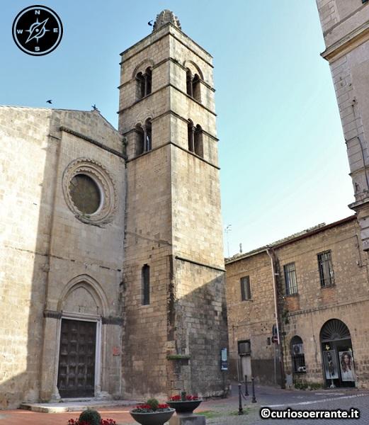 Tarquinia - Chiesa di San Pancrazio (facciata)