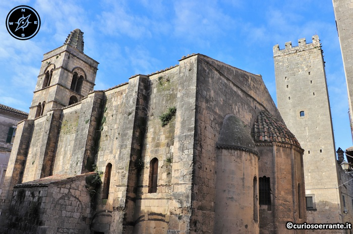 Tarquinia - Chiesa di San Pancrazio (retro)