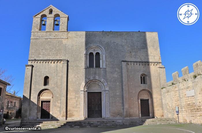 Tarquinia - Chiesa di Santa Maria del Castello facciata
