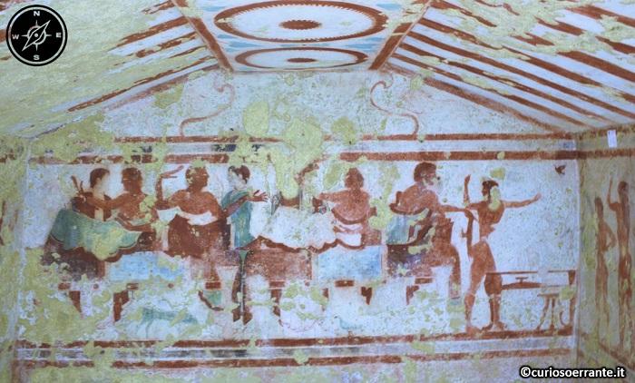 Tarquinia - Necropoli di Monterozzi - Tomba Claudio Bettini