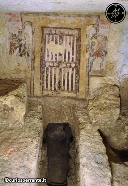 Tarquinia - Necropoli di Monterozzi - Tomba dei Caronti