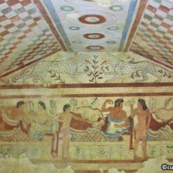 Tarquinia - Necropoli di Monterozzi - Tomba dei leopardi