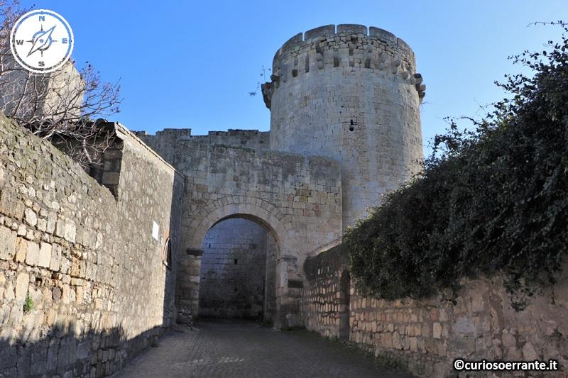Tarquinia - la fortezza dell'Altura del Castello