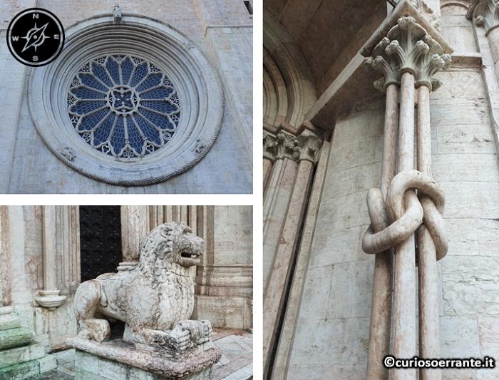 Trento - Duomo di Trento - elementi architettonici