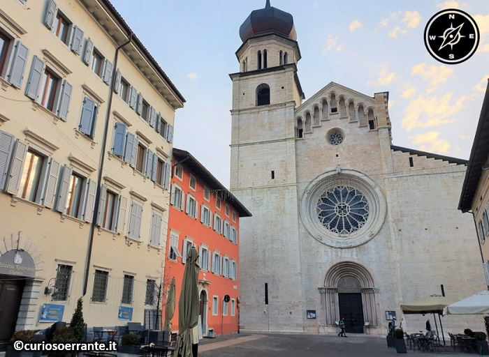 Trento - Duomo o Cattedrale di San Vigilio - facciata