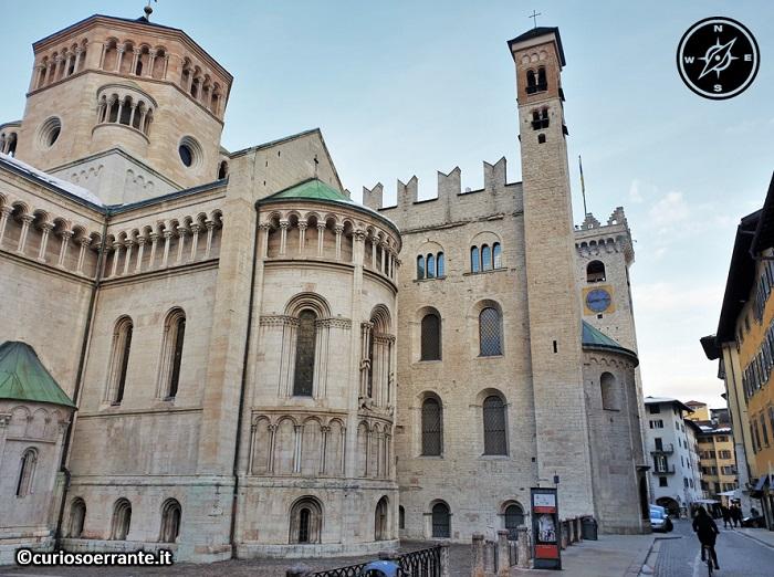 Trento - Duomo o Cattedrale di San Vigilio - retro